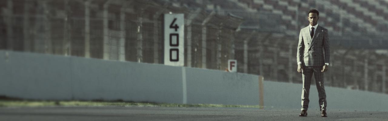 IWC – Lewis Hamilton.