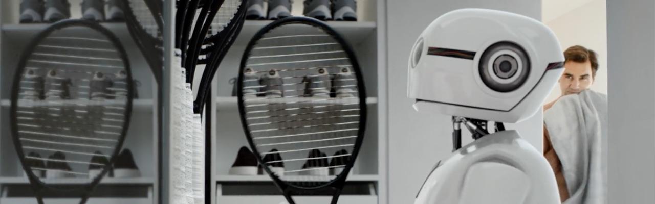 Jura S8 – Roger Federer vs Robot.