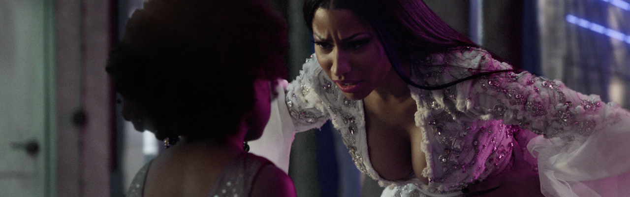 Nicki Minaj - H&M Christmas campaign.